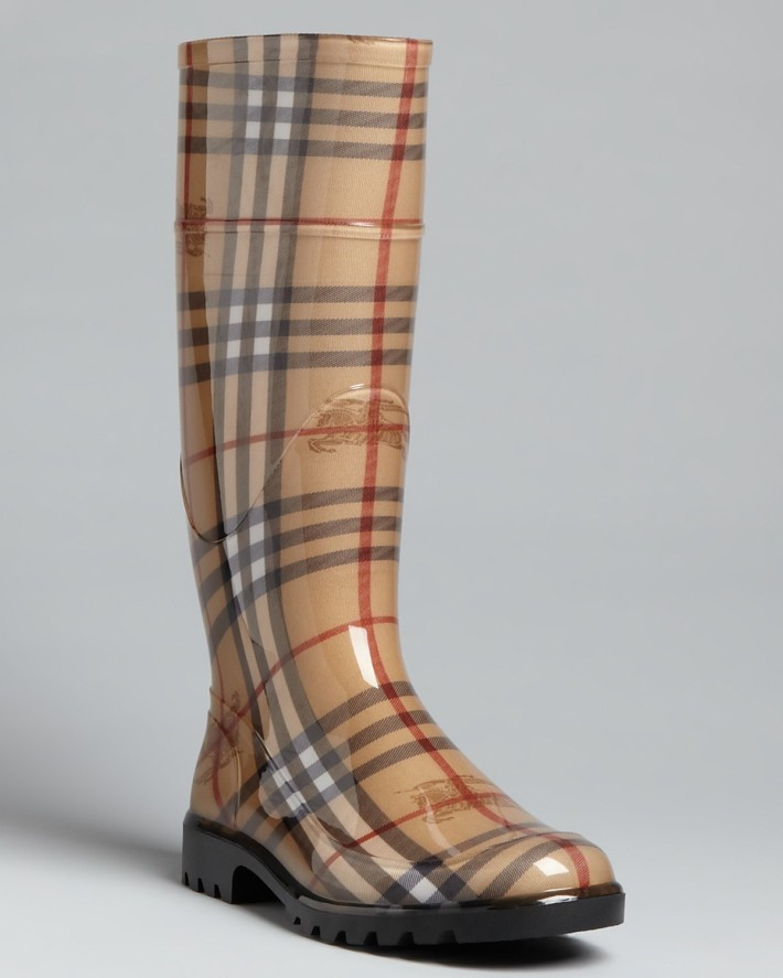 Burrberry-Designer-womens-rain-boots
